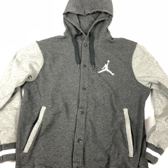 7f09055e33c9a9 Jordan Other - Men s Jordan button up varsity hoodie